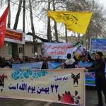 راهپیمایی یوم الله ۲۲ بهمن در دماوند+تصاویر