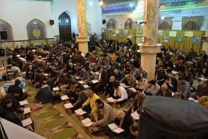 محفل انس با قرآن در مسجدالرضا (ع) گیلاوند/تصاویر