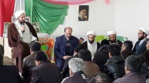 افتتاح نمازخانه دبستان دخترانه وحدت روستای سربندان دماوند