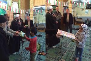 محفل انس با قرآن ویژه کودکان در محله دشتمزار دماوند برگزار شد/ تجلیل از ۲۱ کودک قرآنی و ۴ نمازگزار محله دشتمزار