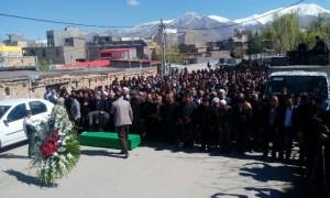 مراسم تشییع و تدفین پیکر مطهر یازدهمین شهید مدافع حرم در دماوند+تصاویر
