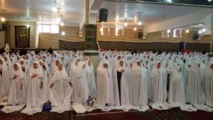 جشن تکلیف ۶۲۰ دانشآموز دختر مدارس دماوند برگزار شد