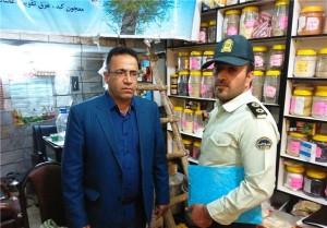پلمپ ۳ عطاری در شهرهای رودهن و آبسرد به علت فروش اقلام دارویی و بهداشتی