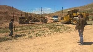 تجهیز زمین فوتبال روستای لومان با اعتباری بالغبر ۵ میلیون تومان