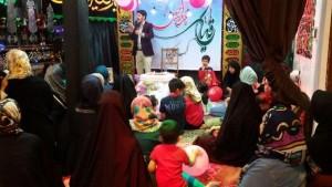 مراسم جشن میلاد حضرت رقیه(س) در هئیت بنت الحسین رقیه(س) محله چالکا دماوند برگزار شد