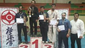 کسب مقام دوم تیم کیوکوشین کاراته دماوند در مسابقات جام رمضان استان تهران
