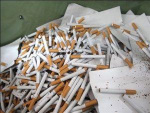 کشف بیش از ۱۴۰۰ نخ سیگار غیرمجاز در دماوند