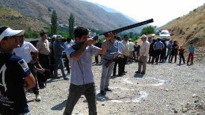 نخستین دوره مسابقات تیراندازی جام شهدای روستای دهنار+تصاویر