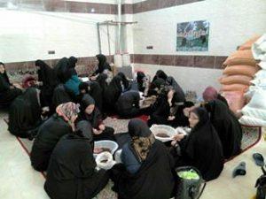 برگزاری اردوی یک روزه جهادی بانوان استان تهران در روستای سربندان دماوند