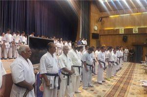 تجلیل از ۱۲۰ کاراتهکای شهرستان دماوند در روز جهانی مساجد