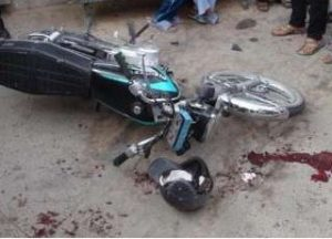 مرگ راکب موتورسیکلت به علت حرکت خلاف جهت در محور رودهن-دماوند
