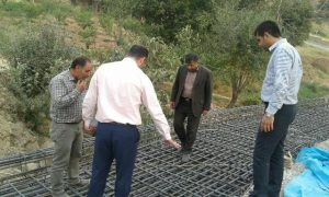 اجرای عملیات تعریض یک دهنه پل در روستای وادان  با اعتباری بالغبر ۱۸۰ میلیون ریال