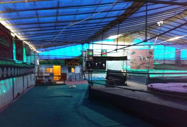 برپایی بزرگترین خیمه قمر بنی هاشم(ع) در روستای وادان دماوند/ برگزاری مراسم تعزیهخوانی در بزرگترین خیمهگاه شرق استان تهران
