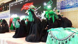 همنوایی شیرخوارگان حسینی در شهرستان دماوند با طفل شش ماهه اباعبدالله الحسین (ع)+تصاویر