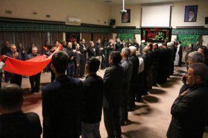 مراسم عزاداری هفتمین روز ماه محرم در دفتر امام جمعه رودهن+تصاویر