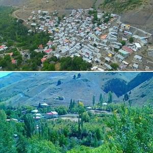 روستای زیبای مومج در شهرستان دماوند + تصاویر