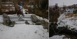 چشمه روستای دهنار دماوند رفع تصرف شد+عکس