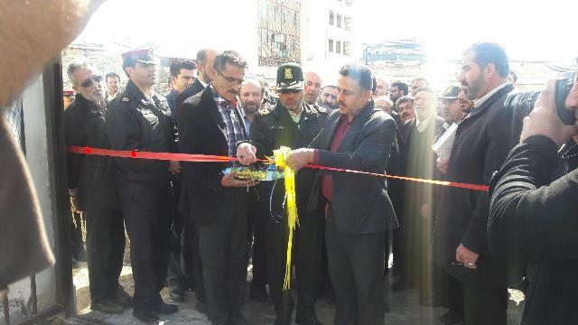 ایستگاه پلیس راهور شهر آبسرد افتتاح و راهاندازی شد+تصاویر