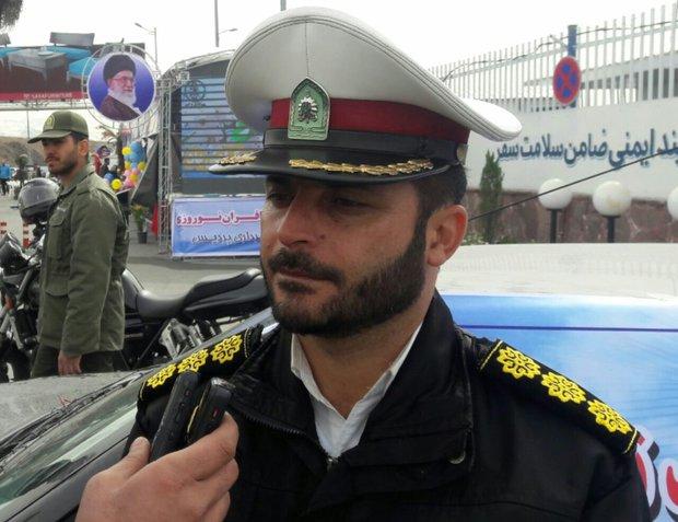 افزایش ۱۵ درصدی تردد در محورهای شرق استان تهران/ روزانه ۴۵ واحد تیم پلیس به صورت محسوس و نامحسوس در محورها حضور فعال دارند
