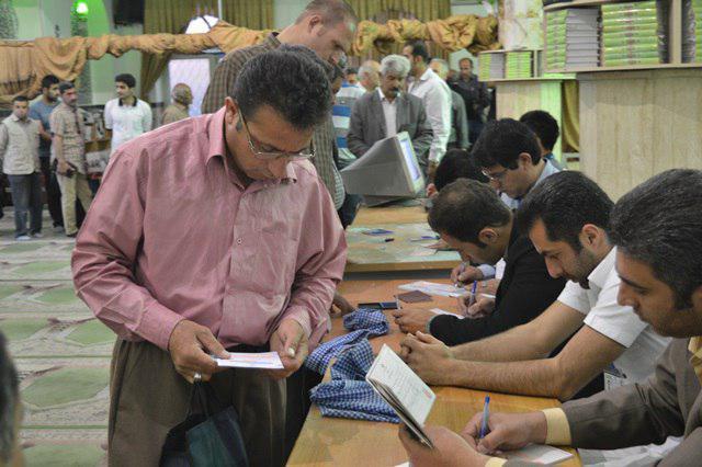 خلق حماسهای دیگر در شهرستان دماوند/ رایگیری در ۱۴۲ شعبه اخذ رأی شهرستان دماوند+تصاویر