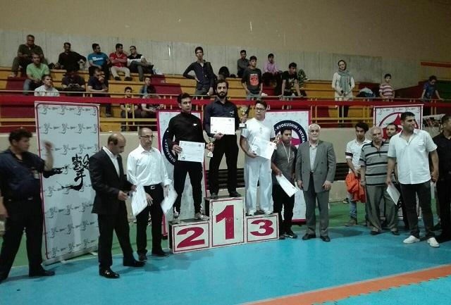 کسب مقام اول تیم کیوکوکشین کاراته شهرستان دماوند در مسابقات قهرمانی استان تهران+تصاویر