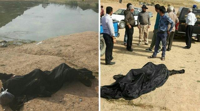 جسد پسر نوجوان افغان از داخل آب سد خاکی وادان دماوند بیرون کشیده شد+تصاویر