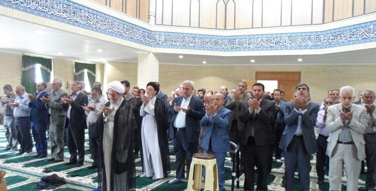 افتتاح و بهرهبرداری مسجد امام علی (ع) روستای اهران شهر آبسرد
