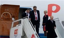 هواپیمای پوتین در سفر به آلمان از عبور از آسمان اعضای ناتو خودداری کرد