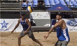 والیبال ساحلی ایران حماسهساز شد/نماینده کشورمان در جمع ۴ تیم برتر جهان