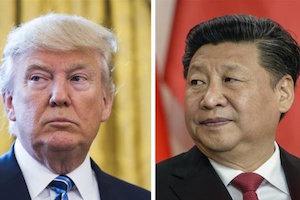 گفتگوی تلفنی رؤسای جمهور آمریکا و چین