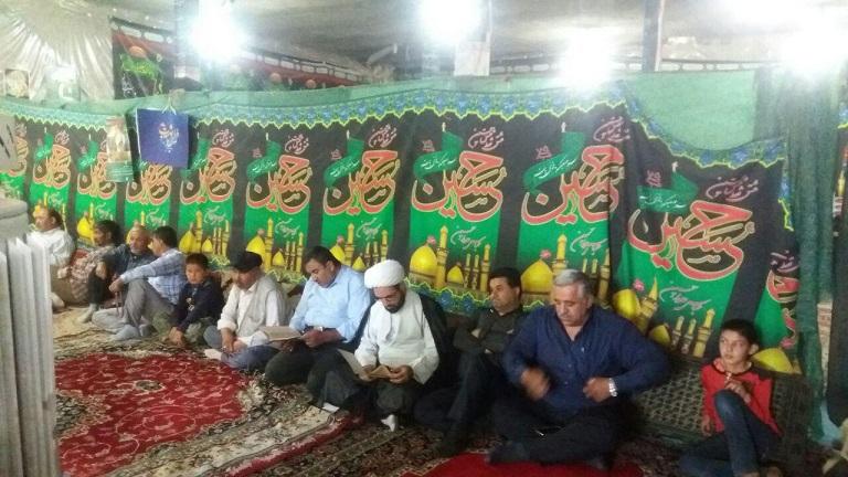 مراسم سالگرد شهید مدافع «سید گلاحمد هاشمینژاد» در آبسرد برگزار شد