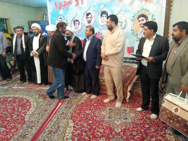 همایش یاد امام و شهدا در روستای دهنار دماوند برگزار شد+تصاویر