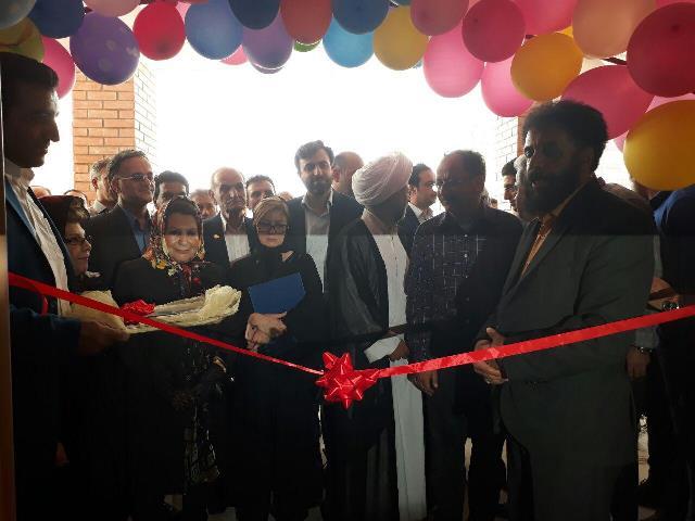 مدرسه ۱۲ کلاسه «سلطان العلما» در شهر آبسرد افتتاح و بهرهبرداری شد