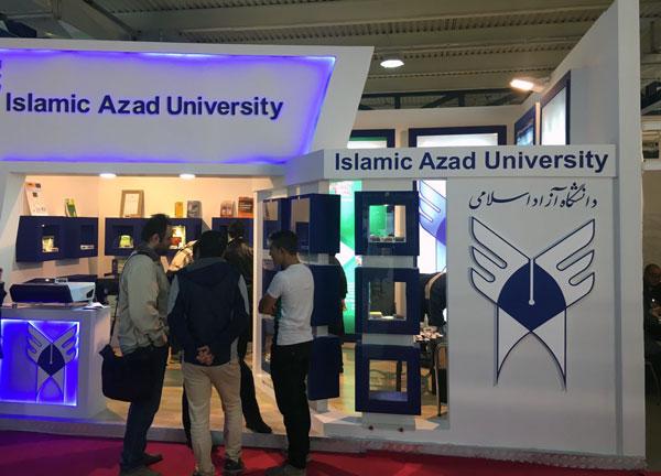 درخشش دانشگاه آزاد اسلامی واحد رودهن در دهمین جشنواره بینالمللی نانو تهران
