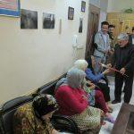 بازدید از سرای سالمندان