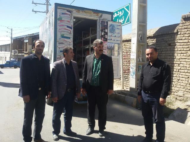 احداث و تجهیز کتابخانه عمومی درساختمان تازه تأسیس دهیاری مهرآباد بخش رودهن