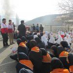 برگزاری مانور زلزله در شهرستان دماوند