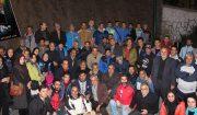 مراسم یادبود کوهنوردان جانباخته مشهدی در رودهن برگزار شد+تصاویر