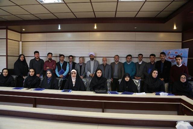 تجلیل از دانشجویان فعال در زمینه نشریات و کانون های دانشجویی در دانشگاه آزاد اسلامی واحد دماوند