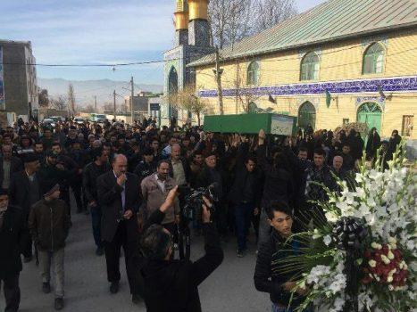 برگزاری آیین تشییع و خاکسپاری پیکر سیامین شهید مدافع حرم در شهرستان دماوند