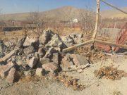 آزادسازی ۱۸ هکتار از اراضی کشاورزی در روستای چنارشرق دماوند/ ۶۸ فقره ساخت و ساز غیرمجاز تخریب شد