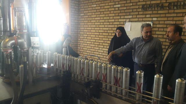 اشتغال ۶۰ نفر از بانوان فعال شهرستان دماوند در ۲ واحد تولیدی صنعتی در شهرک صنعتی آیینهورزان