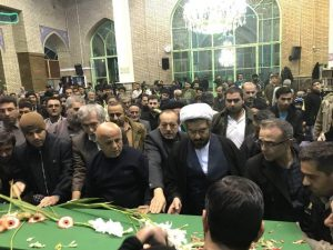 وداع باشکوه با پیکر شهید مدافع حرم «امیرحسین علوی» در شهر دماوند