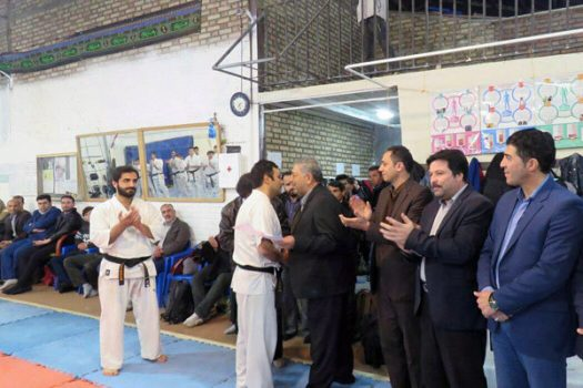 اعطای نمایندگی کیوکوشین ماتسوشیما به مربی کاراته دماوندی