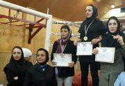 کسب مقام سوم و مدال برنز توسط بانوی ورزشکار دماوندی در مسابقات مویتای قهرمانی استان تهران