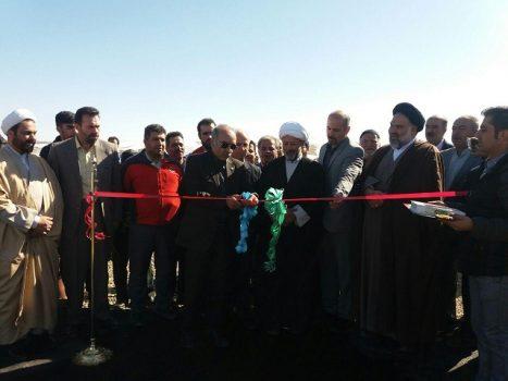 پروژههای عمرانی و خدماتی شهر آبسرد افتتاح و بهرهبرداری شد+تصاویر