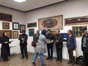 نمایشگاه «خط و نقوش اسلامی» در فرهنگسرای کوثر دماوند گشایش یافت/ تعدادی از این آثار هنری وقف حسینیههای محلات شهر دماوند شد+تصاویر