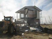 ۱۷ هکتار از اراضی کشاورزی روستای جابان دماوند به چرخه تولید بازگشت/ ۴۷ فقره دیوارکشی به همراه اسکلت و بنای نیمهکاره در روستای جابان تخریب شد
