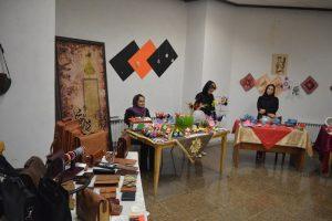 نمایشگاه و فروشگاه «غوغای بهار» در فرهنگسرای کوثر دماوند گشایش یافت+تصاویر