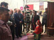 برپایی نمایشگاه نوروزی اقوام ایرانی در شهر دماوند